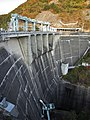 Okura Dam left dam right view.jpg