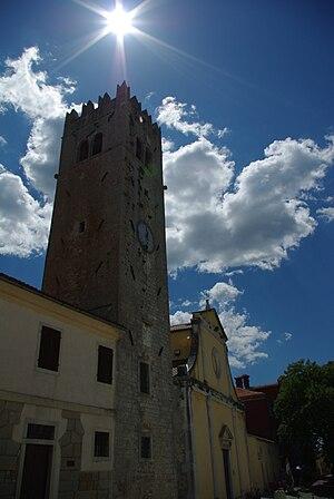 Motovun - The Old Church in Motovun/Montona