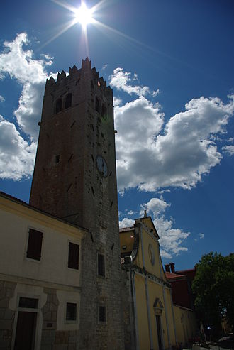 Motovun - The Old Church in Motovun/Montona
