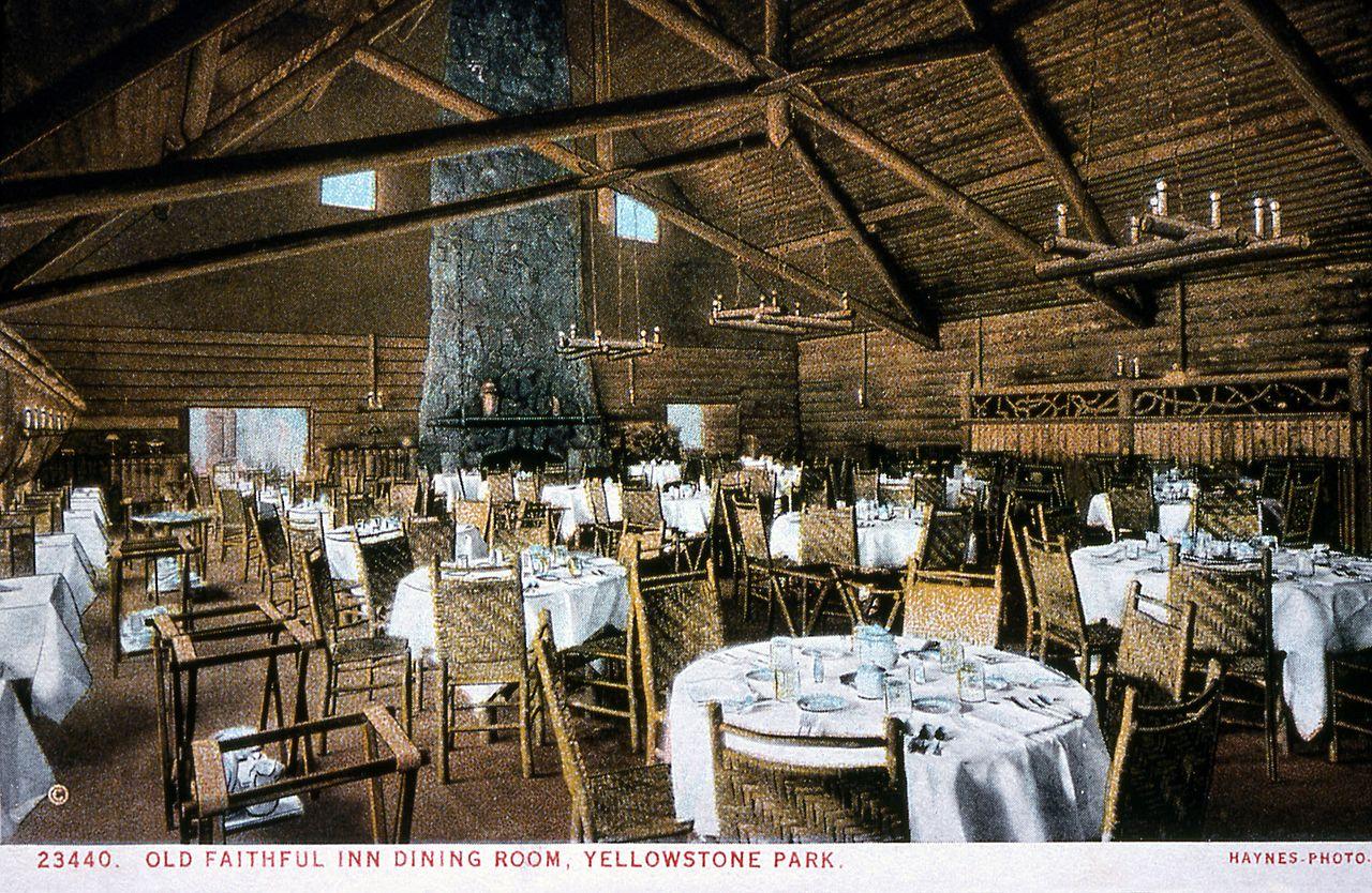 Old Faithful Inn Dining Room Entrancing Fileold Faithful Inn Dining Room 15791316836  Wikimedia . Decorating Inspiration