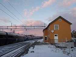 Old Melhus Station 2012.JPG