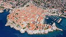 Old Port and historical center of Dubrovnik, Croatia, a view from the south (48613003236).jpg