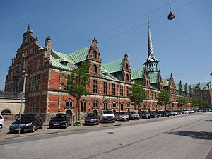Copenhagen - Børsen, former stock exchange (completed 1640)