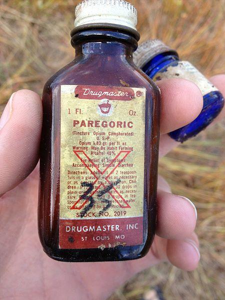 Old Fashioned Liquid Medication