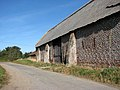 Old flint and brick barn by Manor House Farm - geograph.org.uk - 1505351.jpg