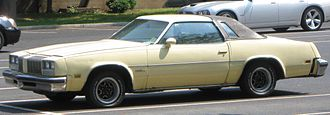 Oldsmobile Cutlass Supreme - Oldsmobile Cutlass Supreme coupe