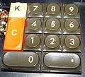 Olympia CD700 Desktop Calculator. 1971. Numeric Keyboard.jpg