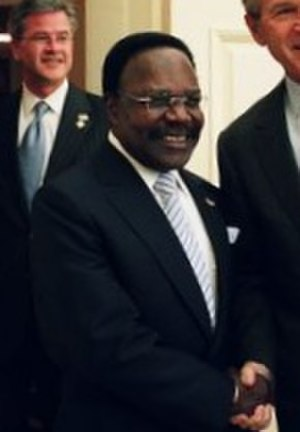 1964 Gabon coup d'état - Bongo in 2004