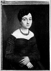 Portret van een vrouw uit de familie Nyst