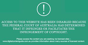 Internet censorship in Australia - Page presented by Optus when a blocked page is requested.