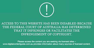 Internet censorship in Australia