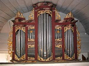 Grünendeich - Image: Orgel Grünendeich