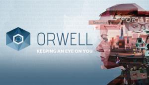 Orwell (video game) - Image: Orwell video game header B capsule