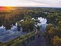 Otisville river road sunset from above (Unsplash).jpg