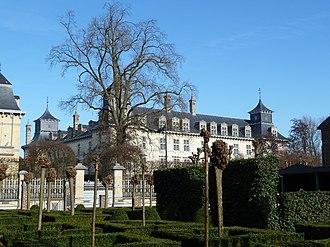 Lanaken - d'Aspremont-Lynden castle at Rekem