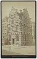 Oud gebouw in Groningen Groningue. Hotel des Contributions (titel op object), RP-F-F01766.jpg