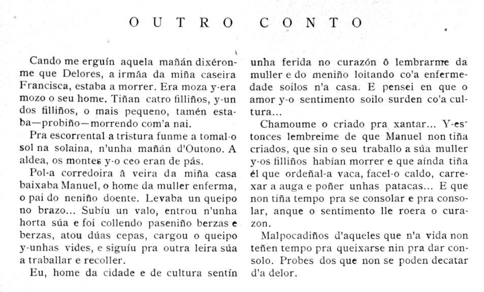 """""""Outro conto""""."""