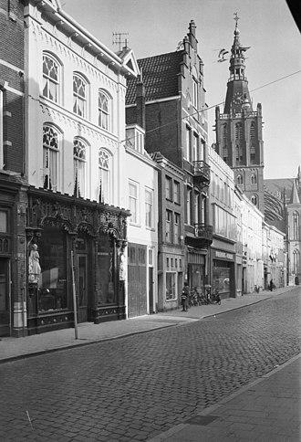 's-Hertogenbosch - Typical street in 's-Hertogenbosch