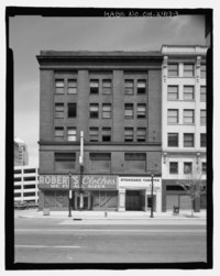 P. C. O'Brien Building, 801-813 Prospect Avenue, Cleveland, Cuyahoga County, OH HABS OH-2413-3.tif