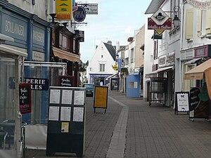 Noirmoutier-en-l'Île - The commercial center of Noirmoutier