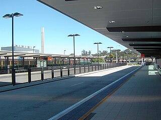 PA Hospital busway station