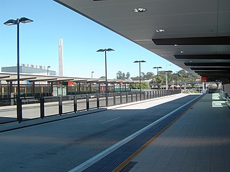 Eastern Busway - PA Hospital busway station