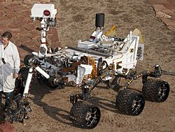 curiosity rover scale model - photo #35