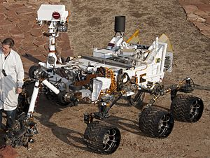 Mars Exploration Program - Full-scale model of the ''Curiosity'' rover