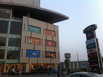 Punjabi cinema - PVR Cinemas at Silver Arc Mall,  Ludhiana, Punjab, India