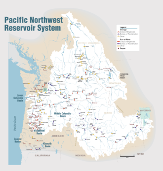 List of dams in the Columbia River watershed - Wikipedia