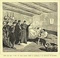 Padre Cámara visitando Macotera durante la epidemia de cólera, 1885.jpg