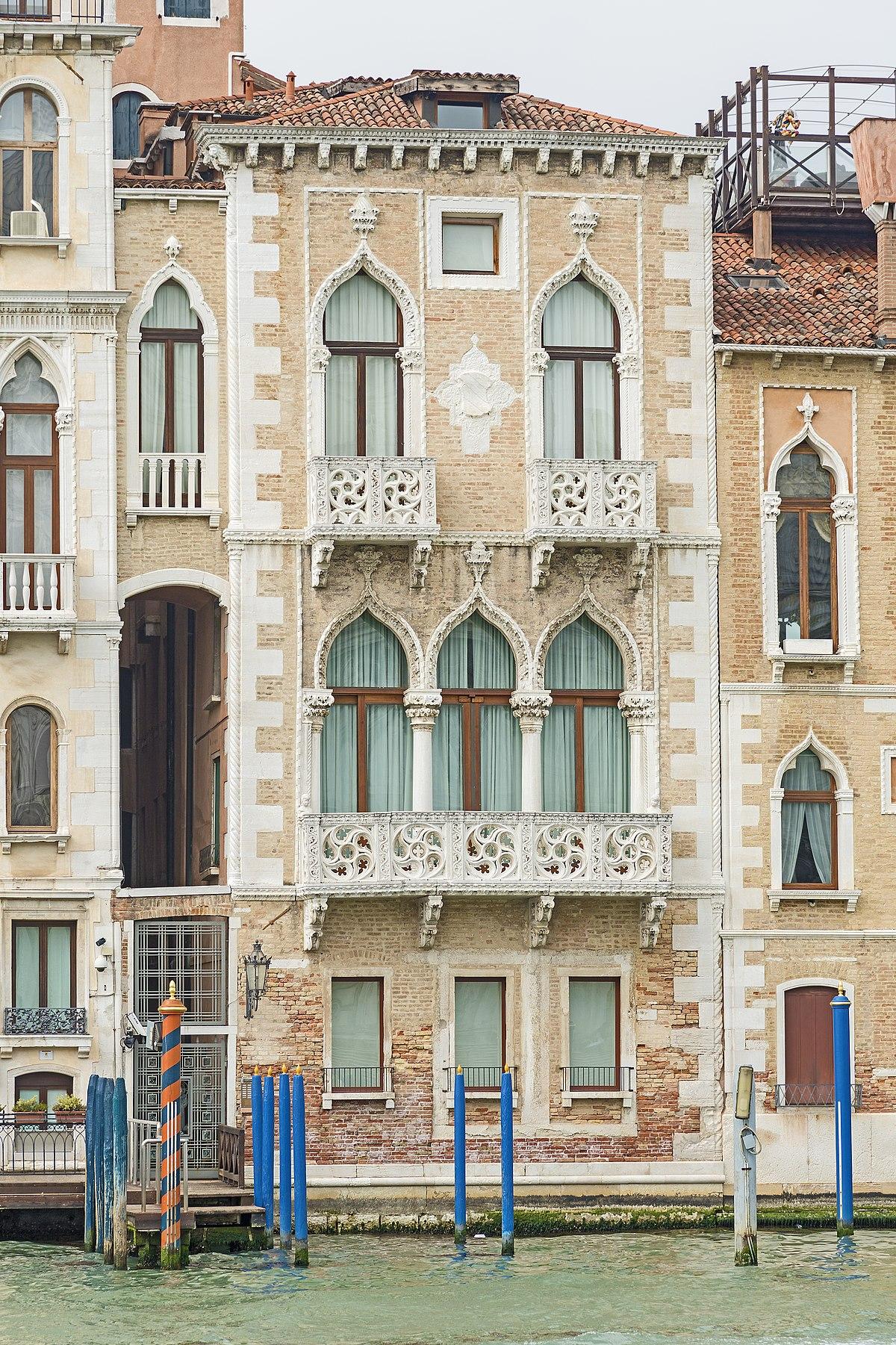 Palazzo contarini fasan wikipedia for Piani di palazzi contemporanei