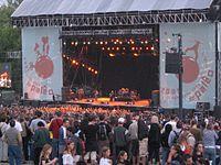 Festival in Nyon, Switzerland