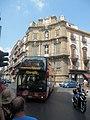 Palermo, Quattro Canti, bus.jpg