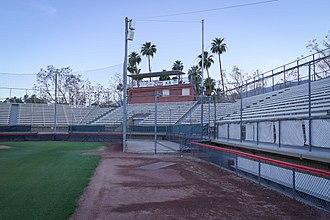 Palm Springs Stadium - Palm Springs Stadium grandstand