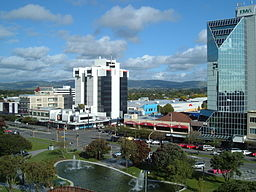 The Square, Palmerston North.