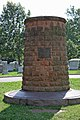 Pan Am Flight 103 Memorial - looking S - Arlington National Cemetery - 2011.JPG
