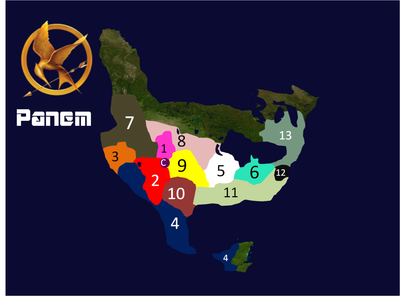 Futuristic File Panem Map Fan Made New Png Wikimedia Commons