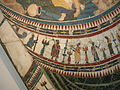 Pannello parietale in opus sectile con las e le ninfe e velum alexandrino, dalla basilica di giunio basso, prima metà del IV sec, 04.JPG