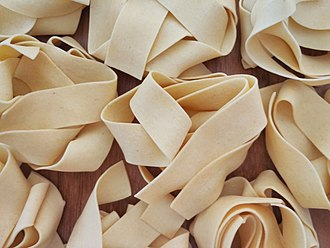 Pappardelle - Image: Pappardelle