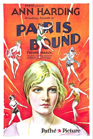 Paris Bound - Film poster