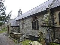 Parish church of Church of St Bridget at Llansantffraid Glyn Dyfrdwy (later re-named Carrog), Sr Ddinbych, Wales 104.jpg