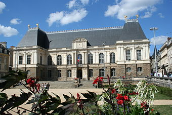 Parlement of Brittany in Rennes