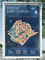Parque Juan Carlos I Info on park.jpg
