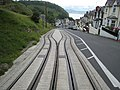 Passing Place on the Great Orme Tramway - geograph.org.uk - 553801.jpg