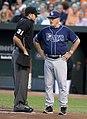 Pat Hoberg and Joe Maddon in 2014 (15046636241).jpg