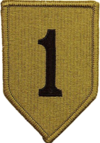 Patch of the U.S. Army 1st Infantry Division (OCP).png
