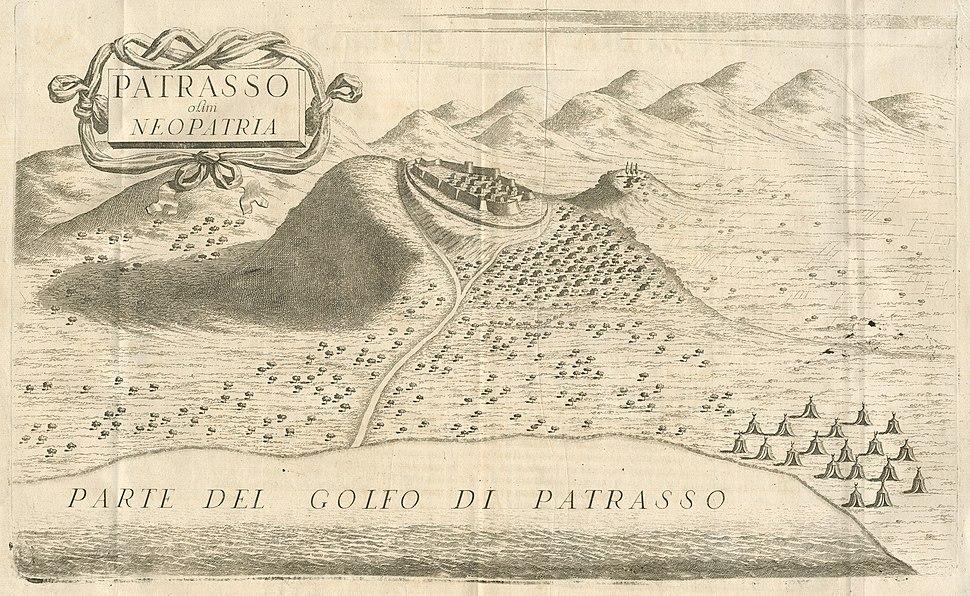 Patrasso olim Neopatria - Coronelli Vincenzo - 1687