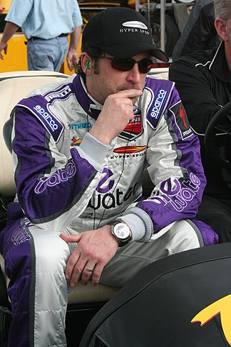 Patrick Dempsey - Dempsey at the 2008 Rolex 24 Hours of Daytona.