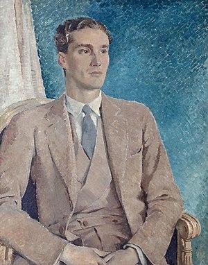 Patrick Buchan-Hepburn, 1st Baron Hailes - Patrick Buchan-Hepburn, Lord Hailes (Glyn Warren Philpot, 1934)
